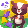 Learn To Spell Letters And Words In Square Panda Jiggigy Jamble Game's Song.