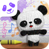 Square Panda Letter Lullaby Learning Game.